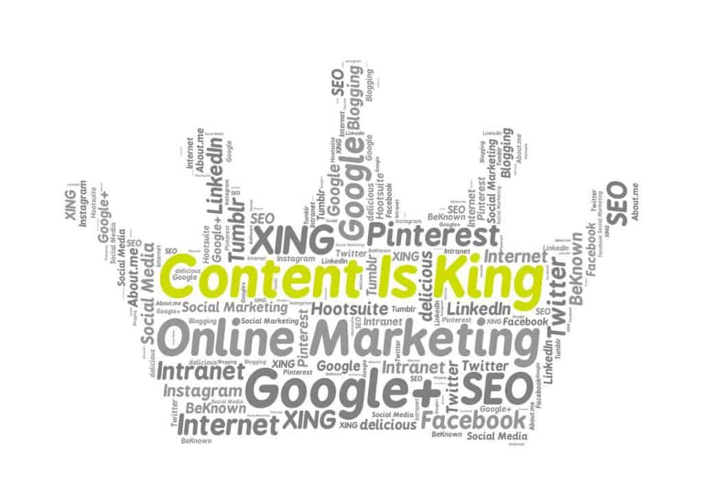Content is King - Illustration