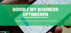 Google My Business optimieren Header