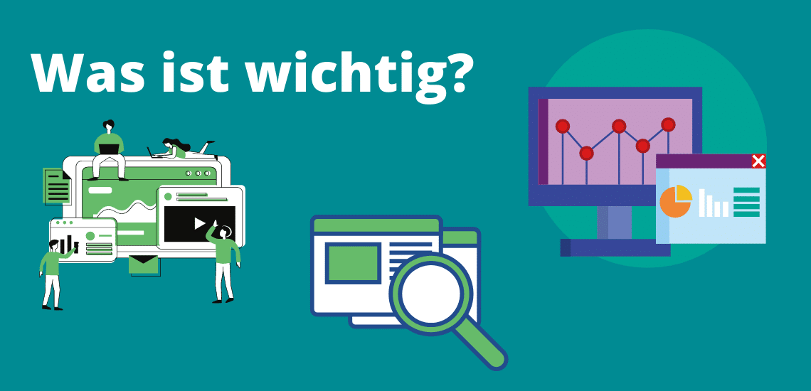 SEO Analyse was ist wichtig Illustration